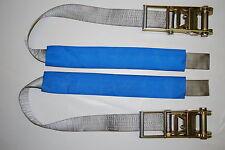 """3"""" UNDERLIFT TIE DOWN STRAP & RATCHET - 1 pair TOW TRUCK, WRECKER, ROLLBACK"""