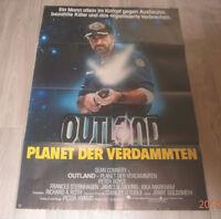 A1 Filmplakat  OUTLAND PLANET DER VERDAMMTEN ,  PETER BOYLE