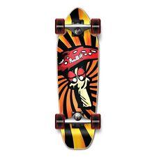 Shroom Graphic Complete Longboard Mini Cruiser skate