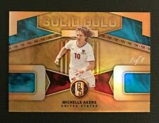 2019-20 Panini Gold Standard Michelle Akers Solid Gold 1 of 1 Pure - USA