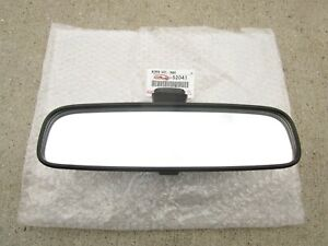 FITS: 04 - 19 TOYOTA PRIUS BASE REAR VIEW MANUAL MIRROR OEM BRAND NEW