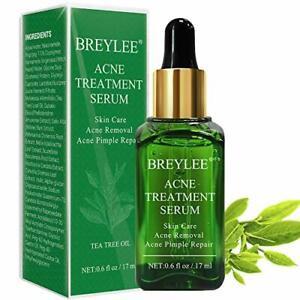 Acne Treatment Serum, BREYLEE Tea Tree Clear Skin Serum for Clearing Severe...
