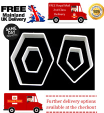 Hexagon & Pentagon Football Sugarcraft Cutter Set..perfect for football designs