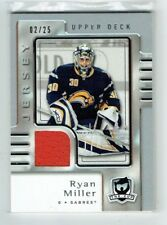 06-07 UD The Cup  Ryan Miller  /25  Jersey