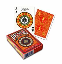 Bicycle Zodiac Playing Cards by USPCC Inspired by Chinese Zodiac features animal