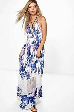 Lace Casual Floral Maxi Dresses for Women