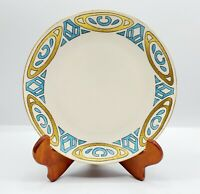 Hutschenreuther Selb Bavaria Arts & Crafts Luncheon Plate Hand Painted Art Deco