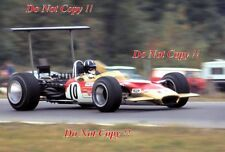 Graham Hill Gold Leaf Team Lotus 49B USA Grand Prix 1968 Photograph 3