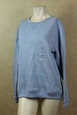 Karen Scott Active Sweatshirt Light Blue Heather S  ____________________ B16C3