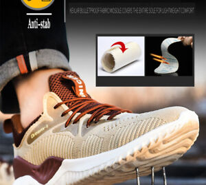Lightweight Steel Toe Cap Safety Shoes Men Women Work Boots Sport Shoes Trainers