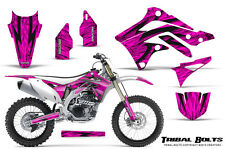 KAWASAKI KXF450 KX450F 12-15 CREATORX GRAPHICS KIT DECALS TRIBAL BOLTS P