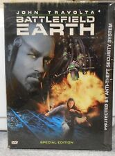 Battlefield Earth (DVD 2001 Special Edition) RARE JOHN TRAVOLTA SCI FI BRAND NEW