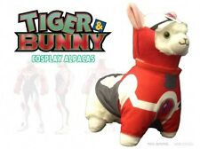 Tiger and Bunny 12'' Barnaby Transformed Cosplay Llama Alpaca Plush Licensed NEW