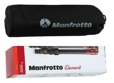 Manfrotto Tripod, Lightweight Element Traveler Small Black (MKELES5BK-BH)