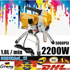 2.2KW Airless Farbsprühgerät Spritzgerät Luftlose Hochdruck Paint Spray Machine