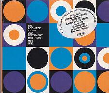 THE ACID JAZZ STORY OLD TESTAMENT 1988-1991 - various artists box set 3 CD