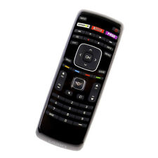 XRT112 Remote Control f Vizio Smart Apps LCD TV with M-GO Amazon Netflix Buttons