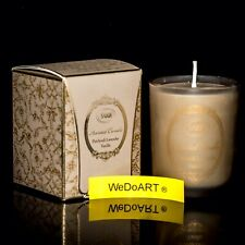 SABON Scented Candle in glass can Patchouli Lavender Vanilla 60ml-2FL.oz