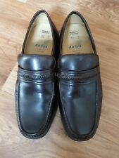 M&S Brown Men Leather Shoes Size Uk 9 Euro 43
