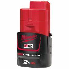 Batterie Milwaukee 12 V et 2 AH Red Li-ion M12b2 - 4932