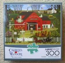 Charles Wysocki MR. SWALLOWBARK 300 Large Piece Jigsaw Puzzle Buffalo Games