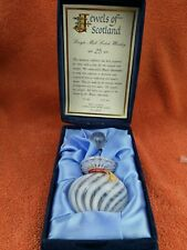 More details for lombard 25 year old jewels of scotland single malt miniature decanter