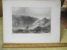 Vintage Print,ENTRACE TO BLACK SEA,Engraving,WH.Bartlett,Turkey+Greace