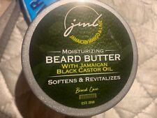 Jamaican Mango Lime Moisturizing Beard Butter Black Castor Oil Softens Hair 4oz