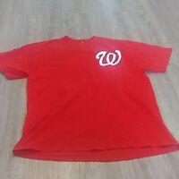Bryce Harper Washington Nationals MLB Baseball Majestic T Shirt Mens Large