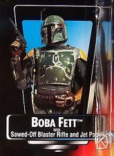 Boba Fett Unopened Star Wars POTF2 1995 Orange Red Card +++