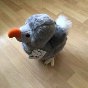 Wally the Dodo Soft Toy Plush 28cm Tall from Mauritius New with Tags