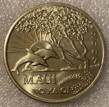 2007 MAUI NO KA OI ONE DOLLAR TRADE HAWAII TOKEN COIN MEDAL