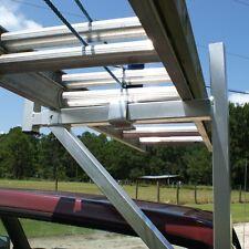 ALUMINUM 250# Contractor Pickup Truck Ladder Lumber Rack Side Mount