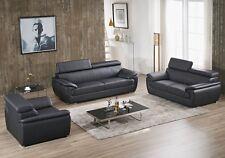 Ledersofa 3+2+1 Sofa Couch Sitzgarnitur Sofas Sitzgruppe 4571-3+2+1-S