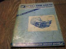 Used ATSG 1989 THM 440 T4 Techtran Manual book