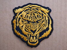 D308 ECUSSON PATCH THERMOCOLLANT TIGRE trike biker country harley / 7 x 7.6 cm