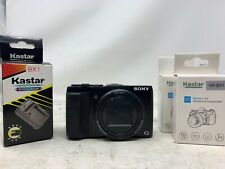 Sony Cyber-Shot DSC-HX50V Digital Camera With Charger And Batteries MW