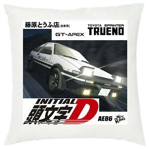Initial D drift king akina tofu shop fujiwara ae86 Anime cuscino pillow 40X40 cm