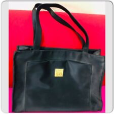 39a0fe8be Givenchy Parfums Travel purse Vinyl Black Shoulder Tote Bag
