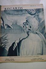REGARDS SUR LE MONDE N°52 1937 MANUFACTURE BEAUVAIS A. MESSAGER MOSAIQUES