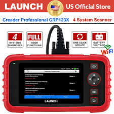 Launch CRP123X/CR529 Car OBD2 Diagnostic Scanner Code Reader Engine ABS SRS AT