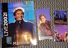 RARE Barry Manilow 2002 Live Official Souvenir Program ORIGINAL MINT