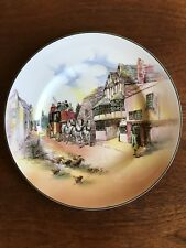 Vintage Royal Doulton Old English Coaching Scenes Cabinet Plate D6393