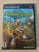 Dawn of Mana (Sony PlayStation 2, 2007) tested and working