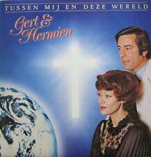 GERT & HERMIEN - TUSSEN MIJ EN DEZE WERELD -  LP (original innersleeve)