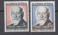 PP288 - SWA SOUTH WEST AFRICA 1966 DR H VEDDER/MISSIONARY 90th ANNIVERSARY MNH