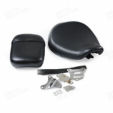 Black Front & Rear Passenger Seat for Honda Shadow ACE VT750C 1998 1999-2003