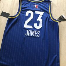 2020 NBA All Star Game Jersey. Lebron James. Size XL. Royal.