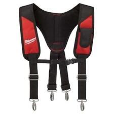 MILWAUKEE 48-22-8145 Padded Rig Suspender Pro Work Tool Durable Adjustable_NV