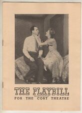"Jean-Paul Sartre  ""The Respectful Prostitute""  Playbill  1948  Broadway"